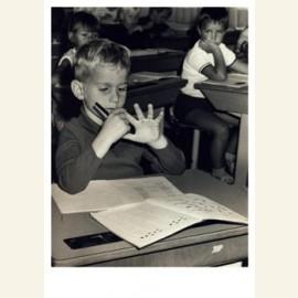 Leren rekenen, circa 1970
