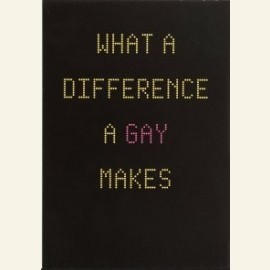 AND THE DIFFERENCE IS YOU]