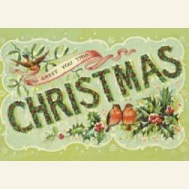 Oude prentbriefkaart