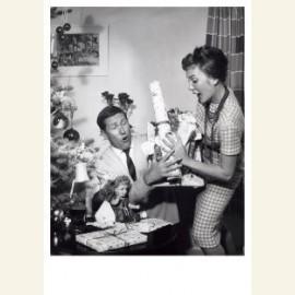 Kerstcadeaux/Kerstkadootjes bijna vallen, 1959