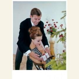 Huwelijksaanzoek bij de kerstboom