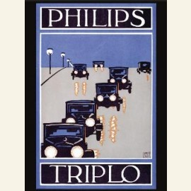 Triplo autolampen, Philips