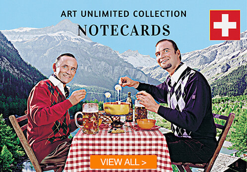 art unlimited notecards with button