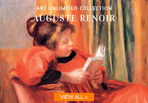 auguste renoir cards with button