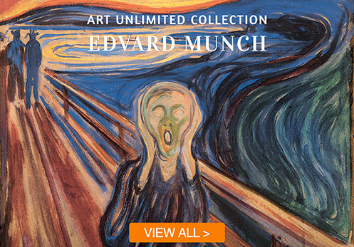 edvard munch cards with button