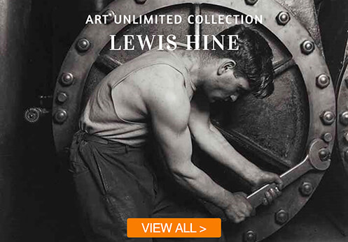 lewis hine cards with button