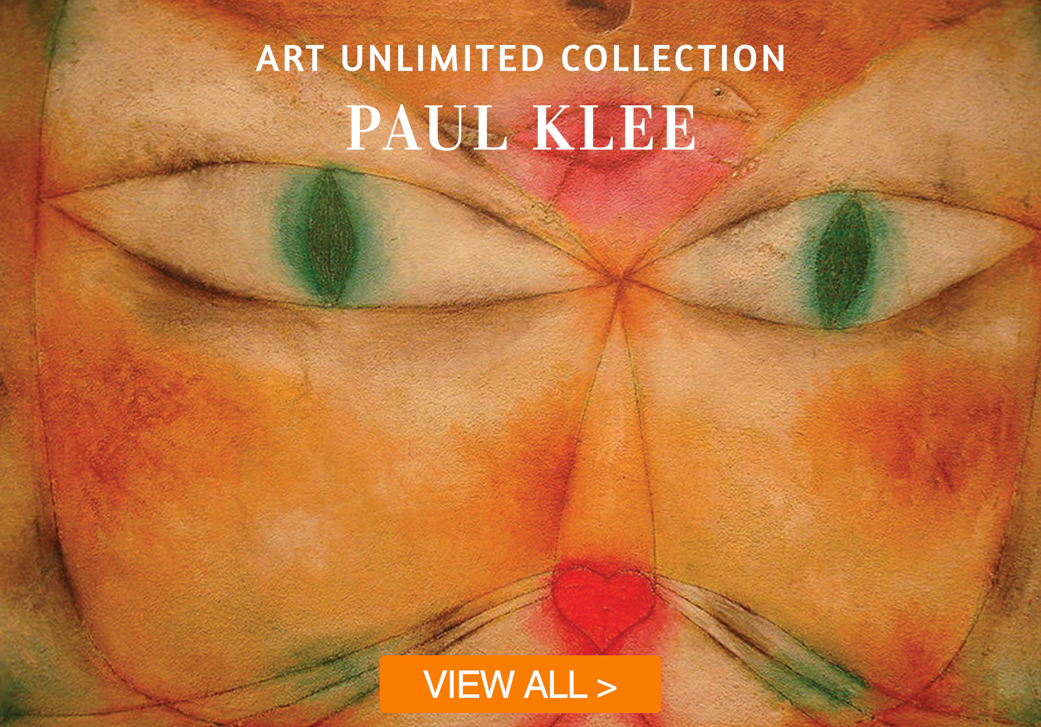 paul klee cards with button